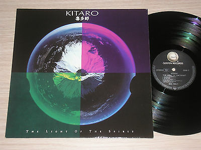 Kitaro - The Light Of The Spirit - Lp 33 Giri Germany