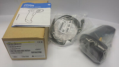 Motorola DS4208 Barcode Scanner with USB Cable - BRAND NEW
