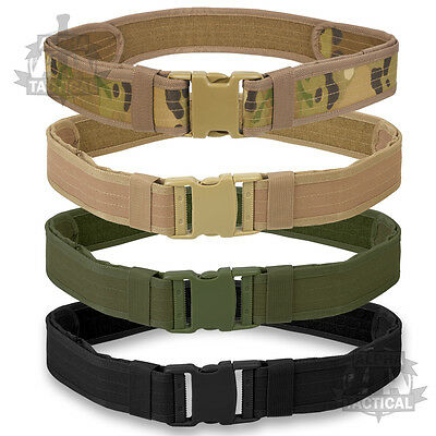 British Army Style Combat Belt New Quick Release Assault Web