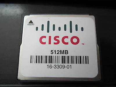 Genuine Cisco 512MB CF Compact Flash Memory Card