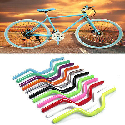 Anodized Gloss Mountain Bike Bicycle Cycling MTB Alloy Riser Handle Bars 25.4mm