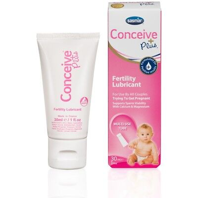 Sasmar Conceive Plus Fertility Lubricant Sperm Friendly 30ml