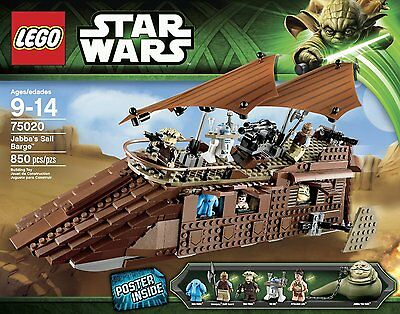 NEW & SEALED! LEGO Star Wars Jabbas Sail Barge with 850 Pieces