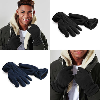 Mens Womens Thinsulate Gloves Fleece Thermal Insulation Lined Warm Winter Gloves
