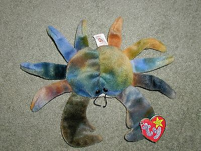 Claude the Crab Beanie Baby by Ty