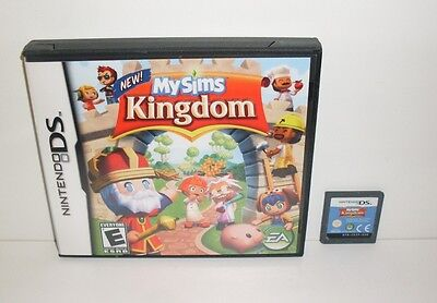 * MY SIMS KINGDOM * GAME & CASE - PLAYS ON DS, 2DS & 3DS!  - LOT OF FUN!