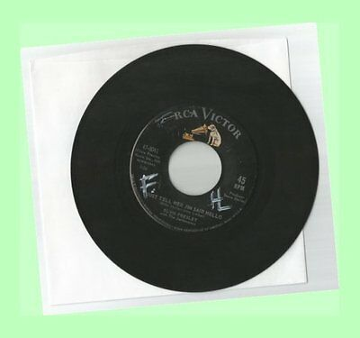 45 RPM ELVIS PRESLEY She's Not You / Just Tell Her Jim Said Hello G/G+ #5 HIT