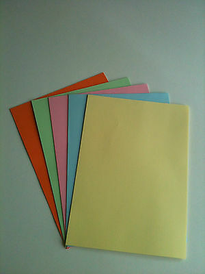 25 x A4  Card Stock, Assorted Colour Pack, Card Making / Scrapbooking