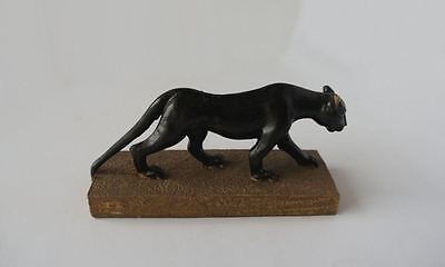 Small Black Panther Ornament Brand New And Boxed - Lovely Details
