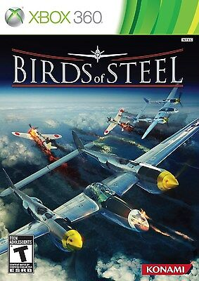Birds of Steel  (Xbox 360, 2012) - NEW - Factory Sealed