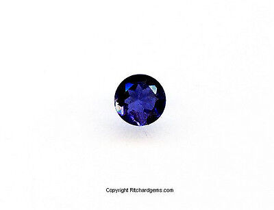 Faceted Round Brilliant 4 Mm  Iolite 100 %  Natural  Us Seller