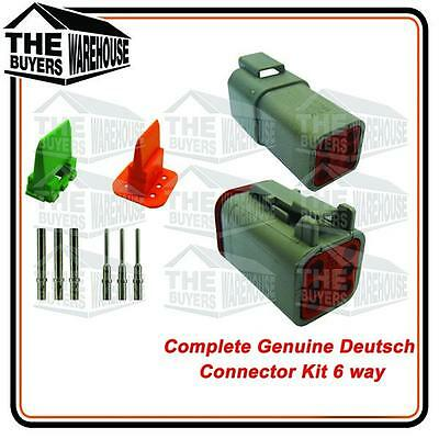 Genuine Deutsch Dt Series 6 Way Complete Kit Connector