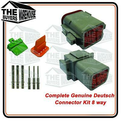 Genuine Deutsch Dt Series 8 Way Complete Kit Connector
