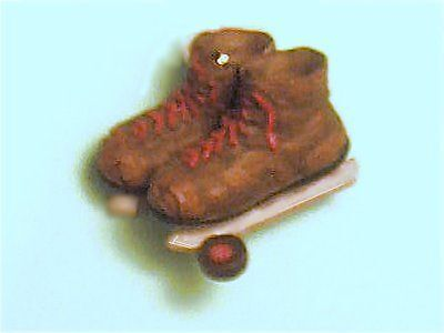 Russ Berrie® Hockey Boots & Puck Ornament GIFT BOXED