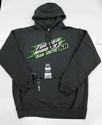 Team Arctic Cat Tucker Hibbert Can Koozie W/ Opener Hoodie L 5263-204 CLEARANCE