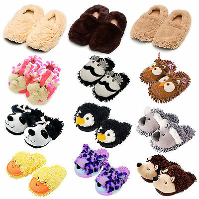 Ladies Warming Or Novelty Slippers (One Size Fits All UK 3-7)