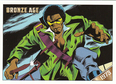 2012 Marvel Bronze Age Rittenhouse Plastic Parallel Card #22 Tomb Of Dracula