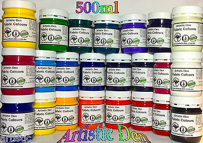 Professional Fabric Paint Print Ink Screen Ink Permaset Compatible 500ml/g