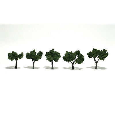 NEW Woodland Scenics Assembled Tree Medium Green 2  TR1502