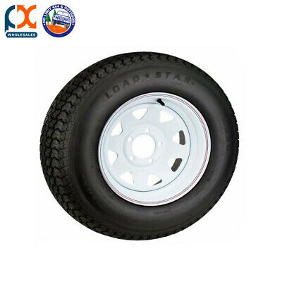 "14"" 185 Ford Stud Wheel And Tyre Sunraysia Trailer Caravan Boat 14 Light Truck"