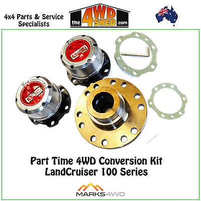 Marks 4WD Adaptors - Part Time 4WD Conversion Kit  Toyota 100 Series Landcruiser