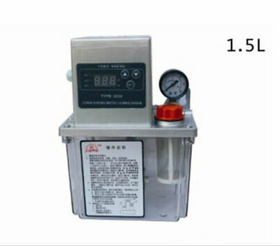 220V 1.5L Auto Lubrication Pump CNC Digital Electronic timer Automatic oiler k