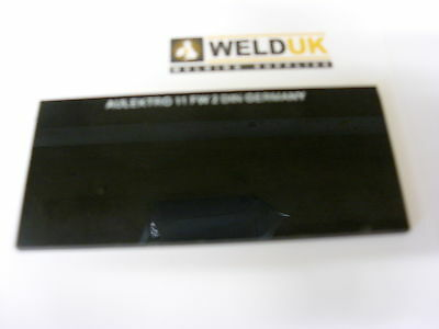 "4 1/4"" x 2"" x 2 Glass Welding Lens Shade 8 - 14 Mig Welder eclipse  E41"