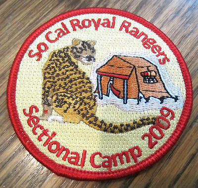 Sectional Camp 2009 So Cal California Royal Ranger Uniform Patch