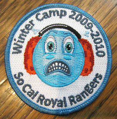 Winter Camp 2009-2010 So Cal California Royal Ranger Uniform Patch