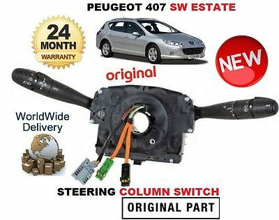 For Peugeot 407 Sw Estate 2004-->On New Steering Column Switch Unit Complete