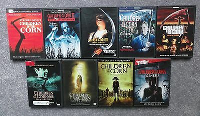 Children Of The Corn Complete Series Stephen King Horror Lot Collection Movies