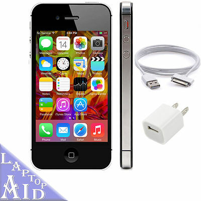 Apple iPhone 4S 16GB - Verizon - Clean ESN - Black Smartphone - Good Condition