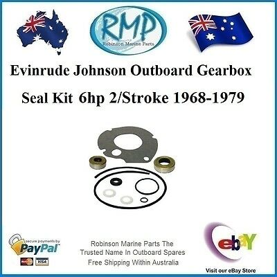 A Brand New Evinrude Johnson Outboard Gearbox Seal Kit  6hp 1968-1979 # 87617