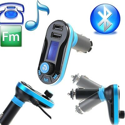 Wireless Bluetooth FM Transmitter MP3 Player Car Kit Charger for iPhone6 5S 5C 5