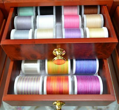 Madeira Treasure Chest Cotona Machine Embroidery Threads & Drawers, Great Value