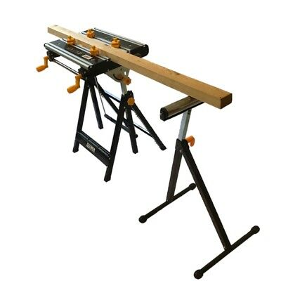 Universal Tilting Portable Aluminium Adjustable Workmate Diy Folding Work Bench