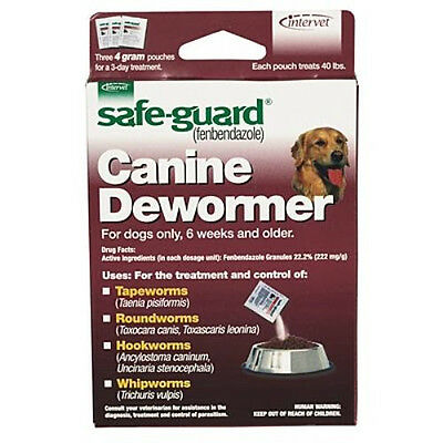 Safe-Guard Canine Dewormer for Large Dogs