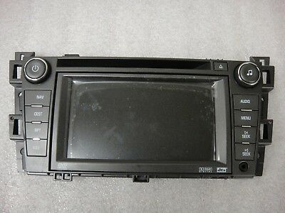 2007-2011 Cadillac DTS OEM GPS NAVIGATION SYSTEM FACEPLATE LCD OEM NEW!