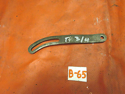 Triumph TR4,TR3, Original Generator Sliding Adjustment Bracket, GC!!