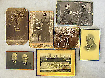 HOLOCAUST LOT 7 PHOTOS OF A JEWISH FAMILY KILLED IN GHETTO Czestochowa 1942