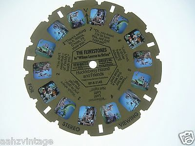 RP-B5143 Flintstones Wilma Learns To Drive - Sawyer's - Single Viewmaster Reel