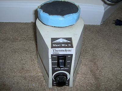 Thermolyne Maxi-Mix II Type 37600 Mixer Shaker Vortexer (TESTED WORKS GREAT)