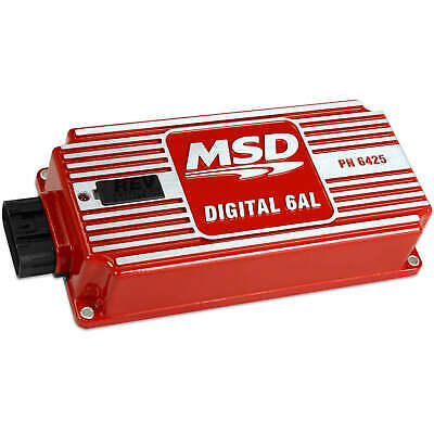 Msd Digital 6Al Ignition Control Box With Rotary Dials For Rev Limiter Msd6425