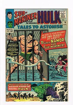 Tales to Astonish # 70  First of Submariner Series grade 4.0 scarce hot book !!
