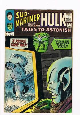 Tales to Astonish # 72  A Prince There Was !  grade 4.5 scarce hot book !!