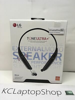 Genuine LG Tone Ultra HBS-820S Wireless Bluetooth Headset Earbuds Black -CLEANED