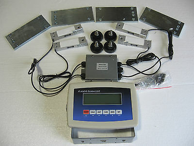 1300lb Livestock Scale Kit for Hogs Goats Sheep Alpacas Pigs & Platform scales