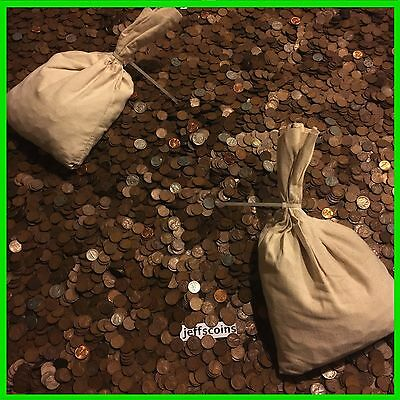✰1LB POUND UNSEARCHED WHEAT CENTS LINCOLN PENNIES✰ESTATE SALE COINS LOT✰1909-58✰