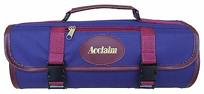 ACCLAIM Stanhope Three Bowl Bag Navy Blue Crown Green Short Mat Level Green