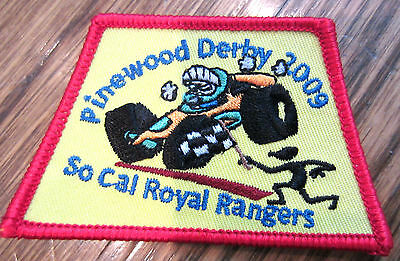Pinewood Derby 2009 So Cal California Royal Ranger Uniform Patch